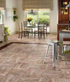 Congoleum DuraCeramic Roman Elegance available at Oscar's Carpet One. #flooring #vinyl #home