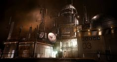 Entrance to Picus Deus Ex 3 by *Gryphart on deviantART