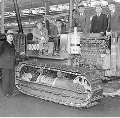 Cat products first diesel powerd Tractor