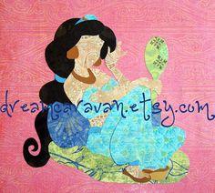 CUSTOM Paper Princess: Jasmine by dreamcaravan on Etsy