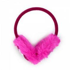 Heart & Fuchsia Fur Fullah Sugah Earmuffs #fur #earmuffs Earmuffs, Winter Is Coming, Fur, Headbands, Makeup, How To Make, Accessories, Jewelry, Heart