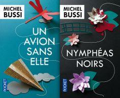 """Michel BUSSI """"Un avion sans elle"""" et """"Nymphéas noirs"""""""