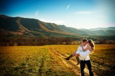 Another Cades Cove shot. I also love some of the engagement poses on this site.