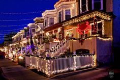 Christmas on 34th Street, Hampden, Baltimore. It's a tradition, Hon!