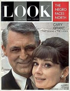 Cary Grant and Audrey Hepburn