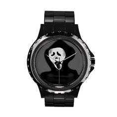 Ghoulish Scream wrist watches