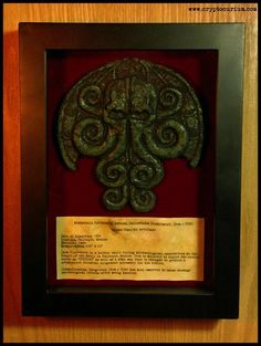 From Cryptocurium comes The Mayan Cthulhu Artifact