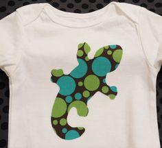 Baby Boy Onesie by KayLaneSisters on Etsy, $9.95