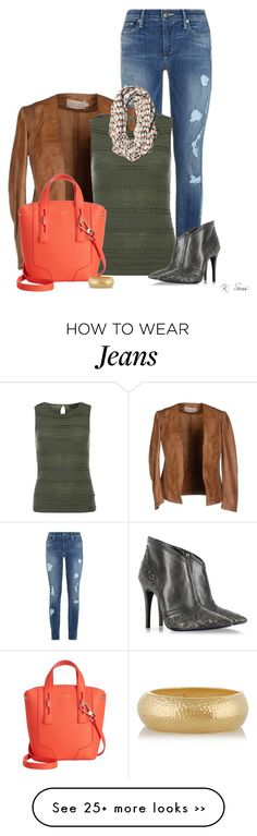 """""""Fall Is Around The Corner. Are You Ready?"""" by ksims-1 on Polyvore featuring True Religion, Dorothy Perkins, RVCA, Loriblu, Furla and Kenneth Jay Lane"""