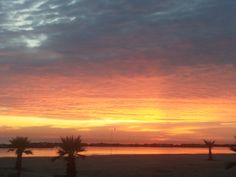 October's sun is rising