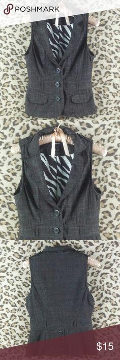 Sz M Multi-Color Bohemian Print VINTAGE WOMENS 100/% Cotton #108 Suit Vest