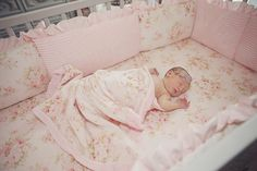 Journey's #Shabby #Chic #Nursery and #Newborn Photos By Erica Mae Photography on Fawn Over Baby