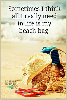 ...my beach bag
