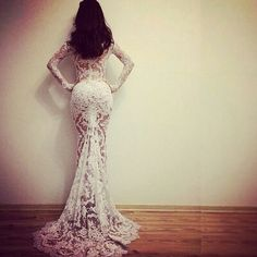 Lace gown  #glam #dress #stunnin