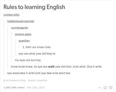10+ Hilarious Reasons Why The English Language Is The Worst