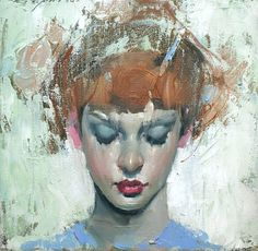Malcolm Liepke, Looking Down 2016, oil on canvas