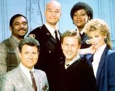 As much as I dislike comedy in general, I must confess to a fondness for Night Court - largely because of John Larroquette and Marsha Warfield.