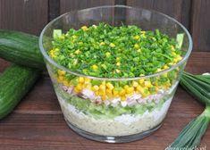 Wiosenna sałatka z brokułem i jajkiem - Obżarciuch Tortellini, Guacamole, Pickles, Cucumber, Bbq, Curry, Menu, Vegetables, Healthy