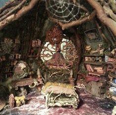Forest Fairy, Fairy Land, Fairy Tales, Fairy Tree Houses, Fairy Garden Houses, Fairy Gardens, Fairy Room, Fairy Crafts, Fairy Furniture