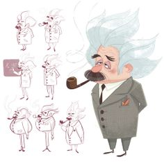 Einstein - Peabody and Sherman ★ Find more at http://www.pinterest.com/competing/