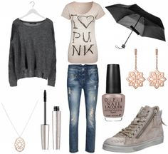 #outfit Lässig in Boyfriendjeans ♥ #outfit #outfit #outfitdestages #dresslove