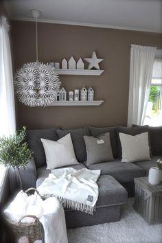Wie die Terrasse zum Wohnzimmer wird | Wohnzimmer grau, Graue wände ...