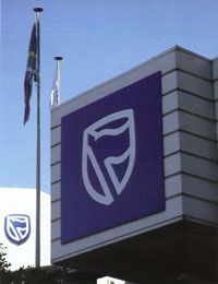 """#StandardBank Group launched a new brand (logo) and image campaign with the pay-off line """"Inspired. Motivated. Involved."""" on 4 April 2006. #Africa #MovingForward"""