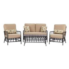 Martha Stewart Living Bryant Cove Patio Sofa Dybc S At The Home Depot Yard Pinterest Cove