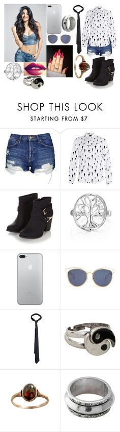 """""""Érya"""" by pamela-gecko-winchester ❤ liked on Polyvore featuring Topshop, Topman, Bling Jewelry, Christian Dior, AllSaints, Hot Topic and NOVICA"""
