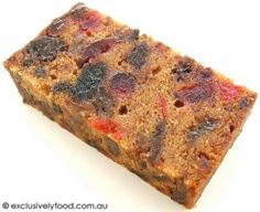 This rich, moist cake is packed with dried fruit.  Preparation time: about 40 minutes (excludes soaking, baking and cooling times)  Yields...