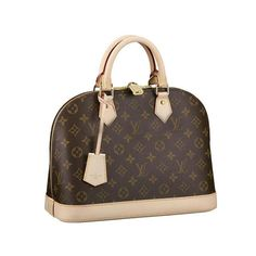 lv Louis Vuitton Alma Brown Top Handles M53151 Adds More Colours For Your Life, High Quality And Fast Delivery!