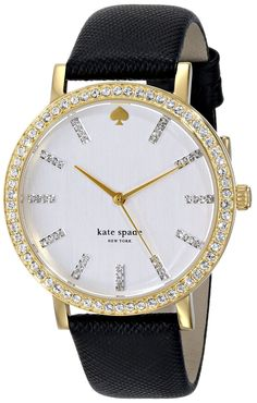 love this crystal accented watch