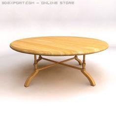 3D Model Table 002 c4d, obj, 3ds, fbx, ma, lwo 23742