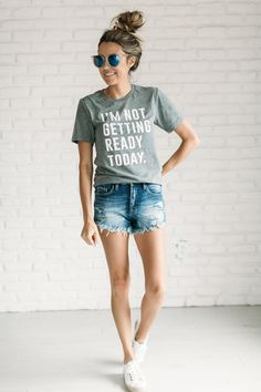 This graphic Tee is basically my feelings everyday in the summer