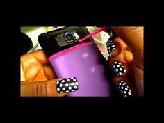 #1 Thing to do with nail polish - phone case nail polish craft