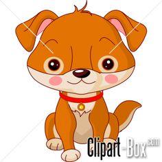 CLIPART CUTE PUPPY DOG