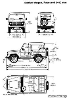 seat dimensions of mercedes w460 g wagon - Google Search