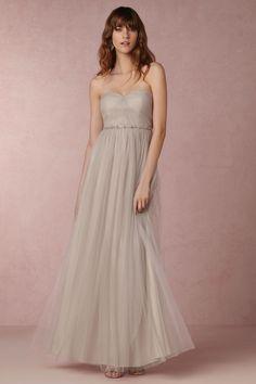 BHLDN Annabelle Dress in  Bridesmaids Bridesmaid Dresses at BHLDN (Sanstone, Blush, Alpine Grey, Ivory/Nude)