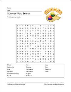 http://homeschooling.about.com/od/holidays/ss/summerprint.htm