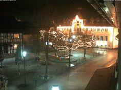 Blick auf das Alte Rathaus in Heppenheim.
