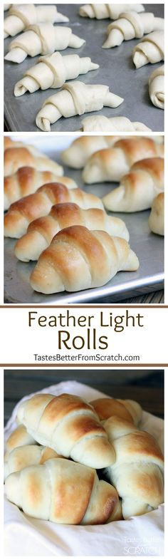 The best light and fluffy homemade rolls recipe--and easy too! Im making these for Thanksgiving! More Ipad Case, Smartphone Bread Recipes, Cooking Recipes, Yummy Recipes, Homemade Rolls, Baked Rolls, Dinner Rolls Recipe, Good Food, Yummy Food, Gastronomia