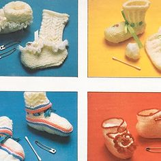 Steweltjies groot en klein Baby Knitting Patterns, Knit Crochet, Baby Shoes, Babies, Kids, Fashion, Young Children, Moda, Babys
