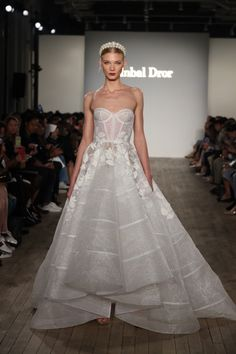 c508c46cddd Bridal Fashion Week  Inbal Dror. Floral Wedding Gown · Princess Wedding  Dresses · Wedding Dresses 2018 ...