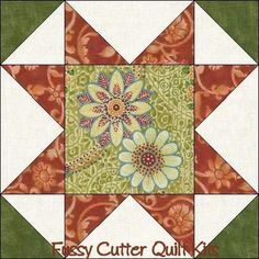Dusty Rose Sage Floral Fabric Easy Pre-Cut Quilt Blocks Kit ... : pre cut quilt blocks - Adamdwight.com