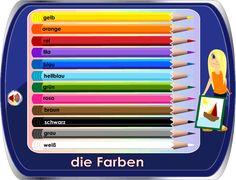 German for Kids / Deutsch für Kinder - Colors