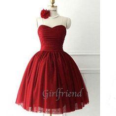 prom dress prom dress - Sweetheart Princess Style Short Prom Dress / Bridesmaid dress from Girlfriend #promdress #coniefox #2016prom