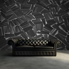 """There is a saying that a house without books is like a room without windows."""" Even though you can't technically read this book-patterned wallpaper, you can let it be a reminder of all the brilliant books you haven't read yet."""