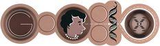 Los doodles de 'mujeres con ciencia' 25 de julio de 2013: 93 aniversario del nacimiento de la cristalógrafa Rosalind Franklin