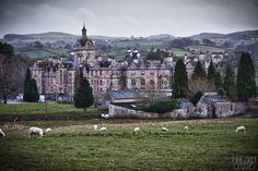 Denbigh Lunatic Asylum - aka North Wales Hospital - Administration Building