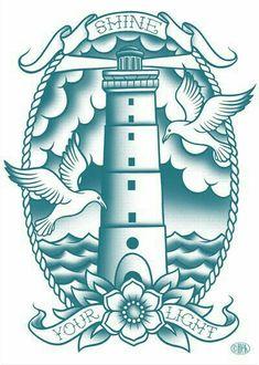 Resultado de imagem para seagull old school Traditional Tattoo Old School, Traditional Tattoo Art, Traditional Ink, American Traditional, Tatto Old, Arm Tattoo, Sleeve Tattoos, Life Tattoos, Body Art Tattoos